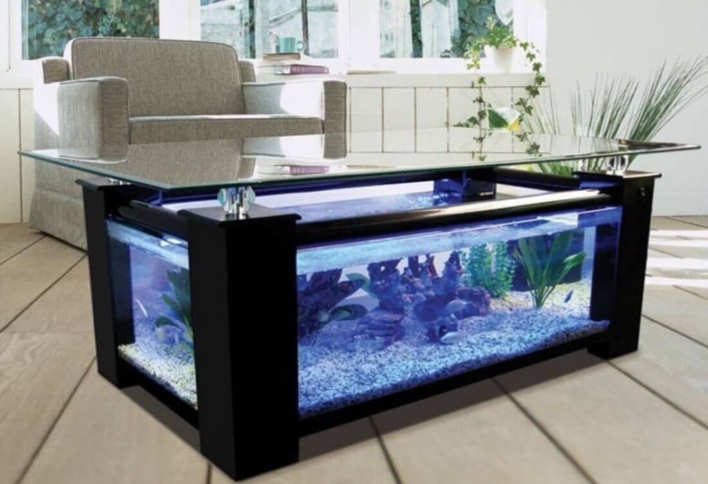 Стол под аквариум своими руками